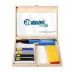 Adam Hall Repair Kit for Surfaces black/grey/blue