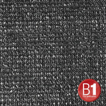 Adam Hall 0155100 B - Gauze, material 100 sold by the meter, 3m wide, black
