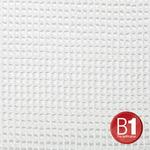 Adam Hall 0156 X 35 W - Gauze, material 201 3x5m with eyelets, white