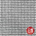 Adam Hall 0156 X 36 B - Gauze, material 201 3x6m with eyelets, black