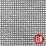 Adam Hall 0156 X 45 B - Gauze, material 201 4x5m with eyelets, black