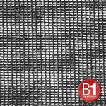 Adam Hall 0157100 B - Gauze, material 202 sold by the meter, 3m wide, black