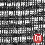 Adam Hall 0157 X 34 B - Gauze, material 202 3x4m with eyelets, black
