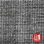Adam Hall 0158 X 34 B - Gauze, material 203 3x4m with eyelets, black