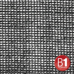 Adam Hall 0158 X 45 B - Gauze, material 203 4x5m with eyelets, black