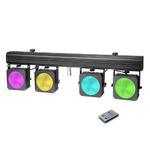 Cameo NEW Multi PAR COB 1 - Compact 4 x 30 W RGB COB LED lighting system incl. transport case