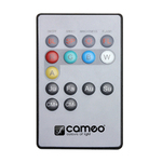 Cameo NEW FLAT PAR CAN REMOTE - Infrared remote control for FLAT PAR CAN projector