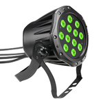Cameo Outdoor PAR TRI 12 IP 65 - 12 x 3 W TRI Colour LED Outdoor PAR Can RGB in black housing