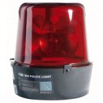 Showtec Large Police Light Red
