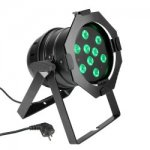 Cameo PAR 56 CAN 9x 3W Tri Colour LED RGB Black